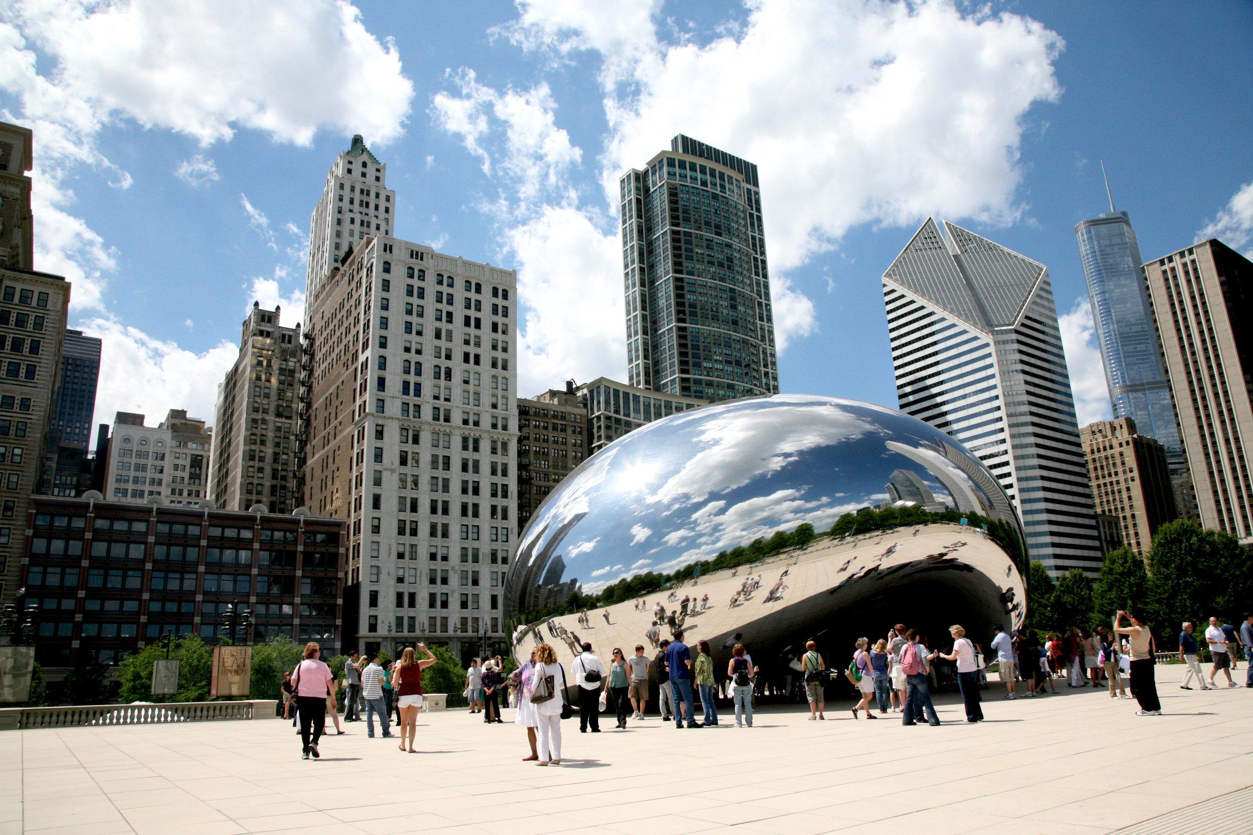 Cloud Gate, Millennium Park, Chicago