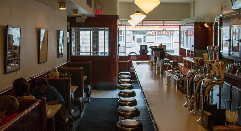 Lakeview Restaurant, Toronto, Canada.