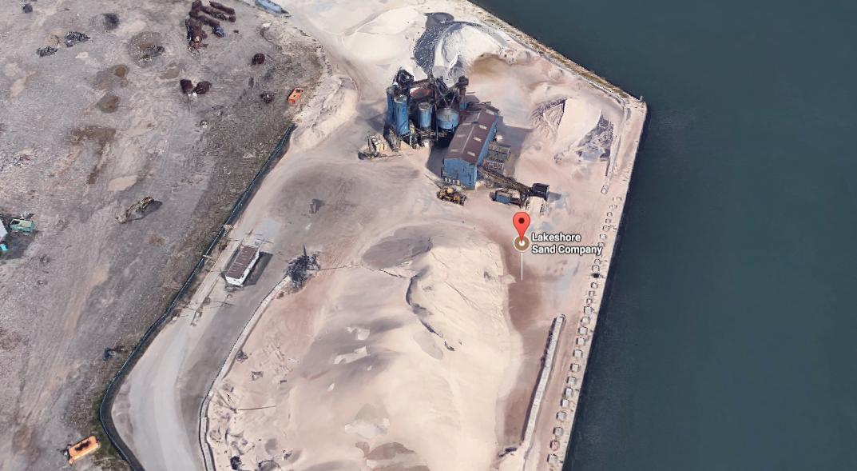 La Lakeshore Sand Company, 800 Strathearne Ave, Hamilton, Cananda.