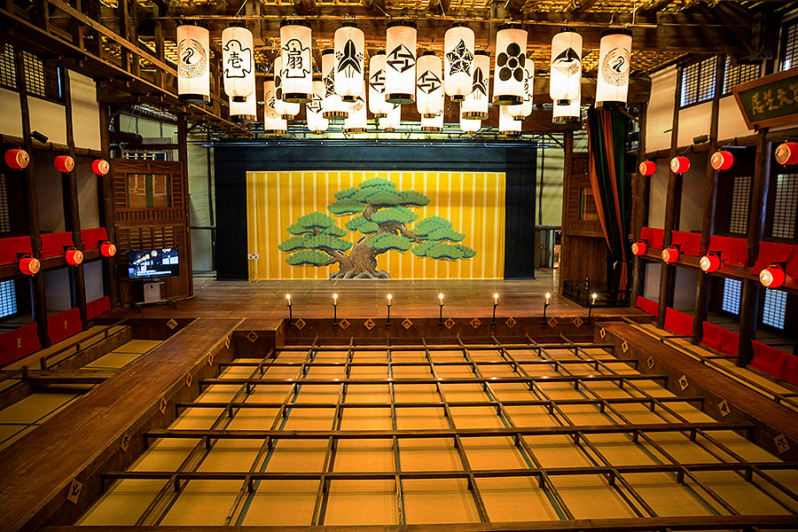 Kanamaruza Theater, Kotohira