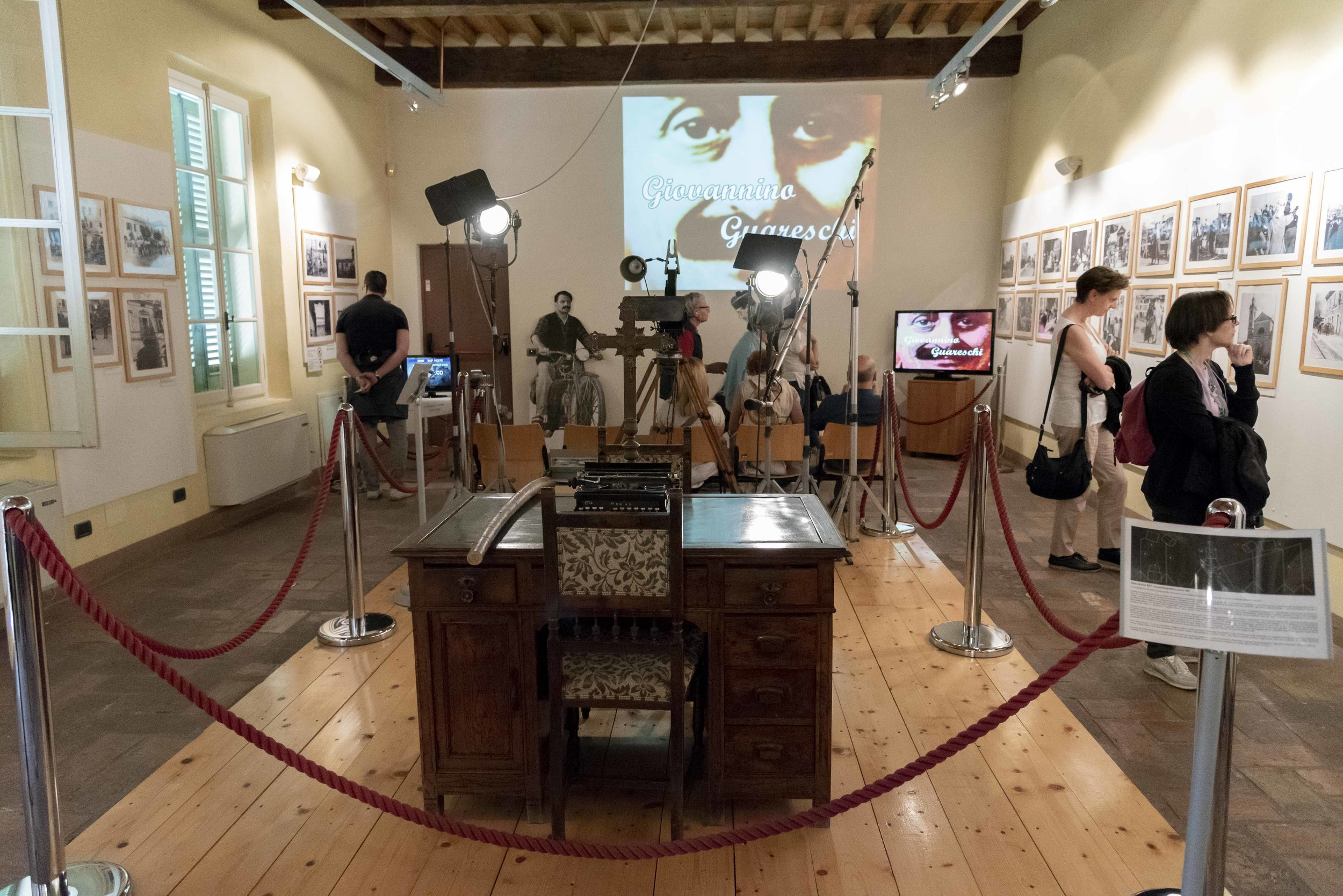 Museo Brescello e Guareschi, il cinema e il territorio. Foto di Valerio Greco