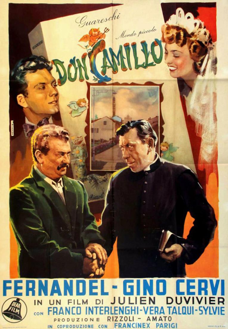 Poster del film Don Camillo (1952)