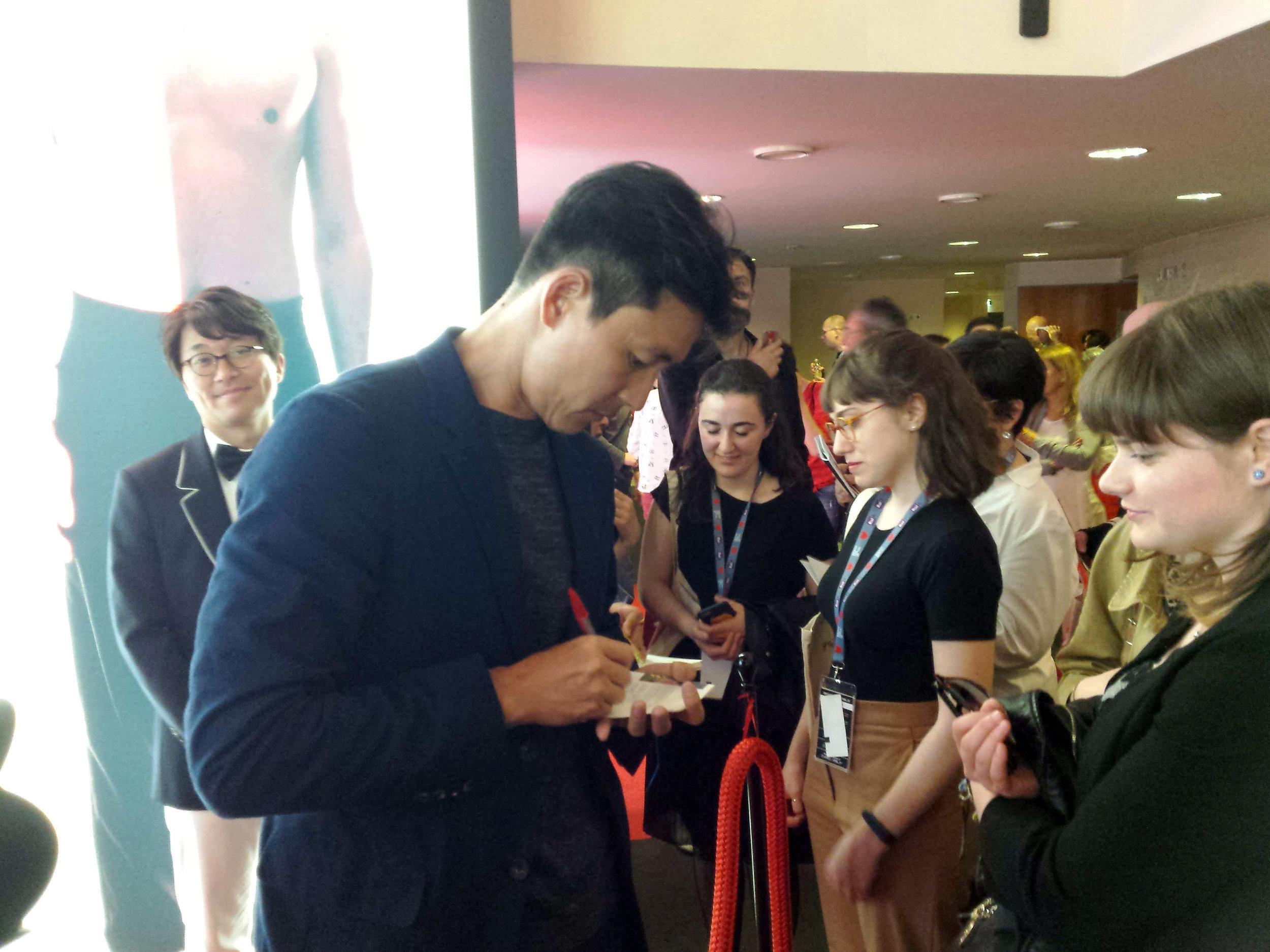 Jung Woo-sung.   Far East Film Festival 20, Udine. Foto di Greta Cinalli