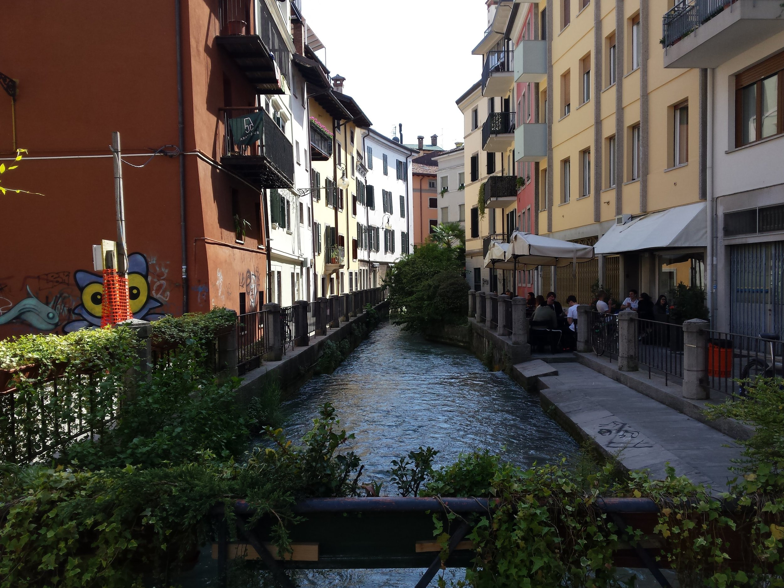 Via Molin Nascoto, Udine. Foto di Greta Cinalli