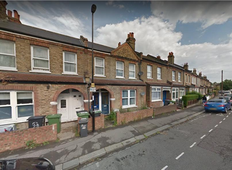 Malyons Road a Ladywell, Lewisham, Londra.