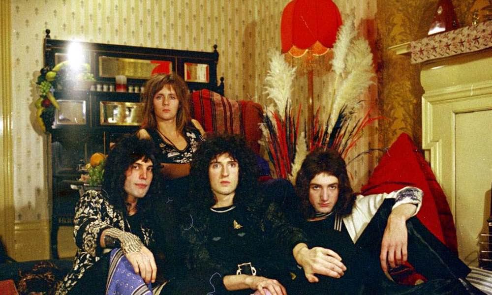I Queen nel 1973. Foto di Doug Puddifoot.