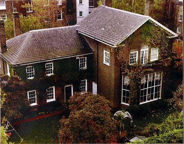 Garden Lodge, 1 Logan Place in Kensington, London