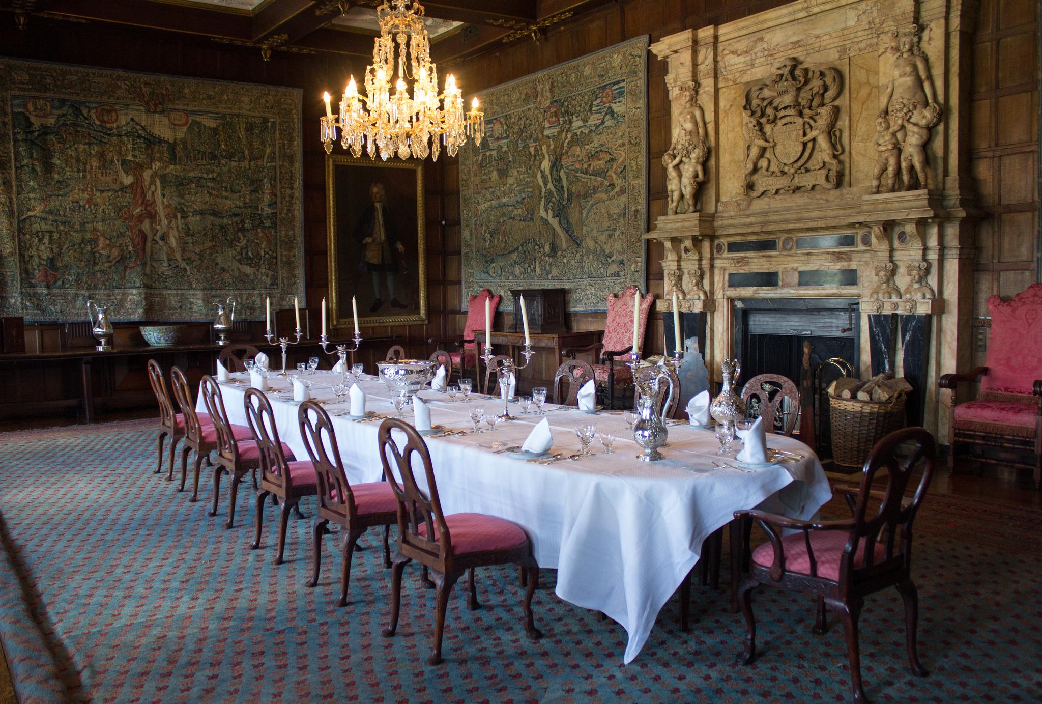 Winter Dining Room, Hatfield House, Great North Rd, Hatfield.   Foto di  Simon Q