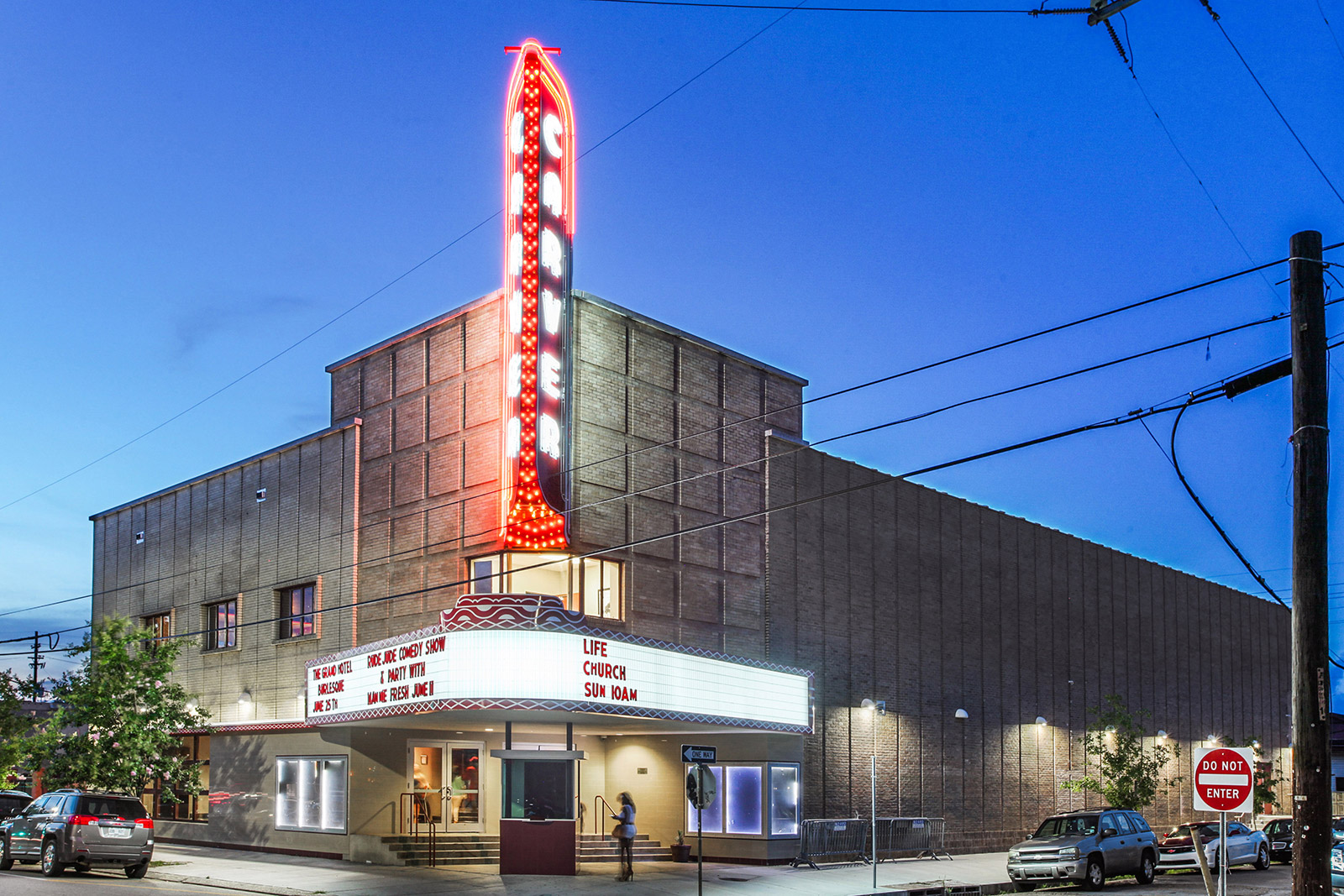 Carver Theatre, 2101 Orleans Avenue, New Orleans