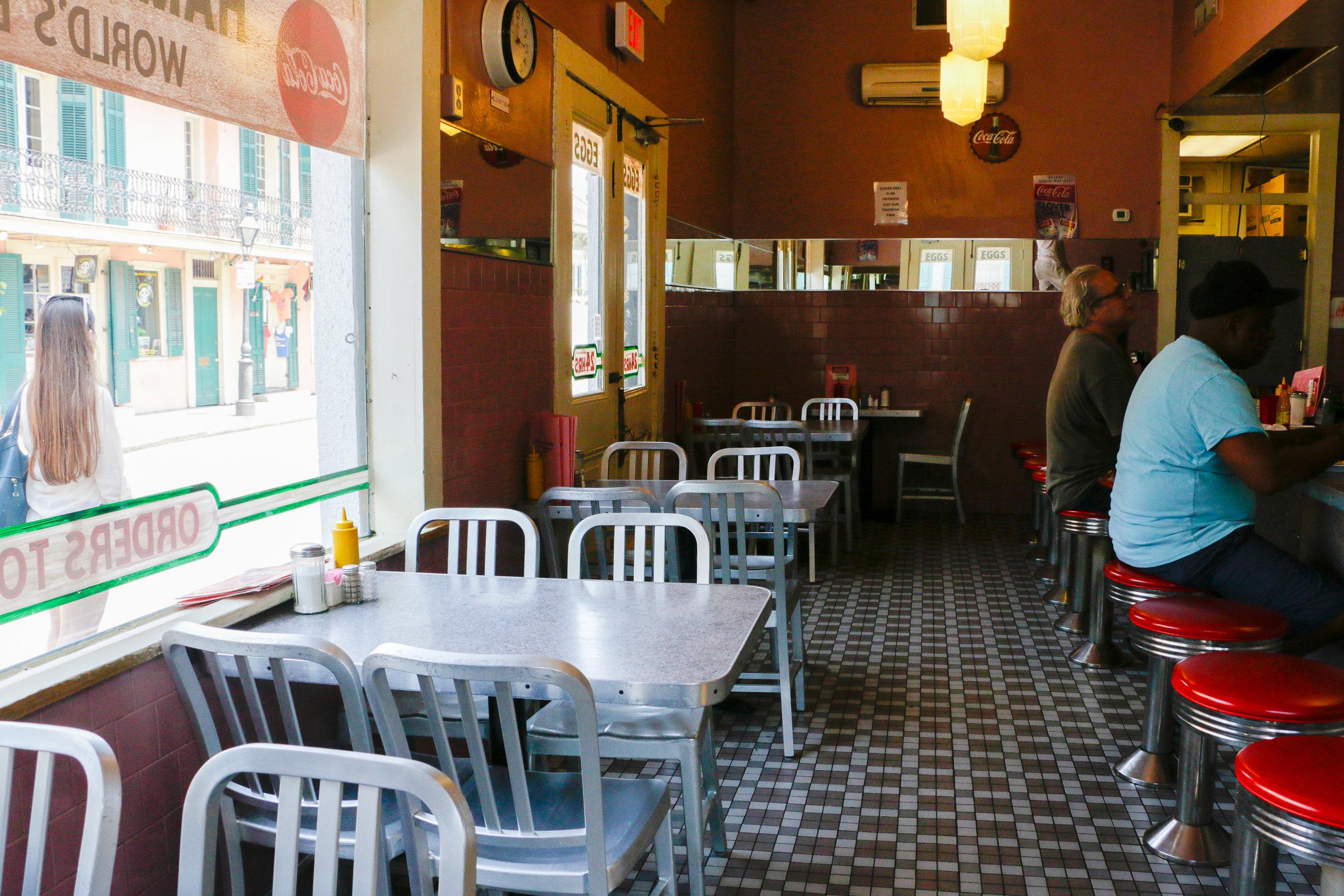 Clover Grill, 900 Bourbon St, New Orleans