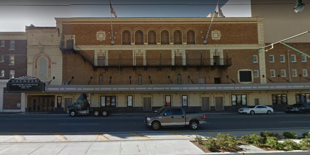 Saenger Theatre, Rampart Street, New Orleans