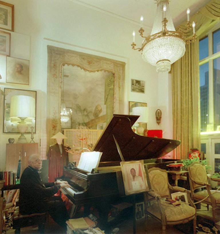 Don Shirley nel suo appartamento