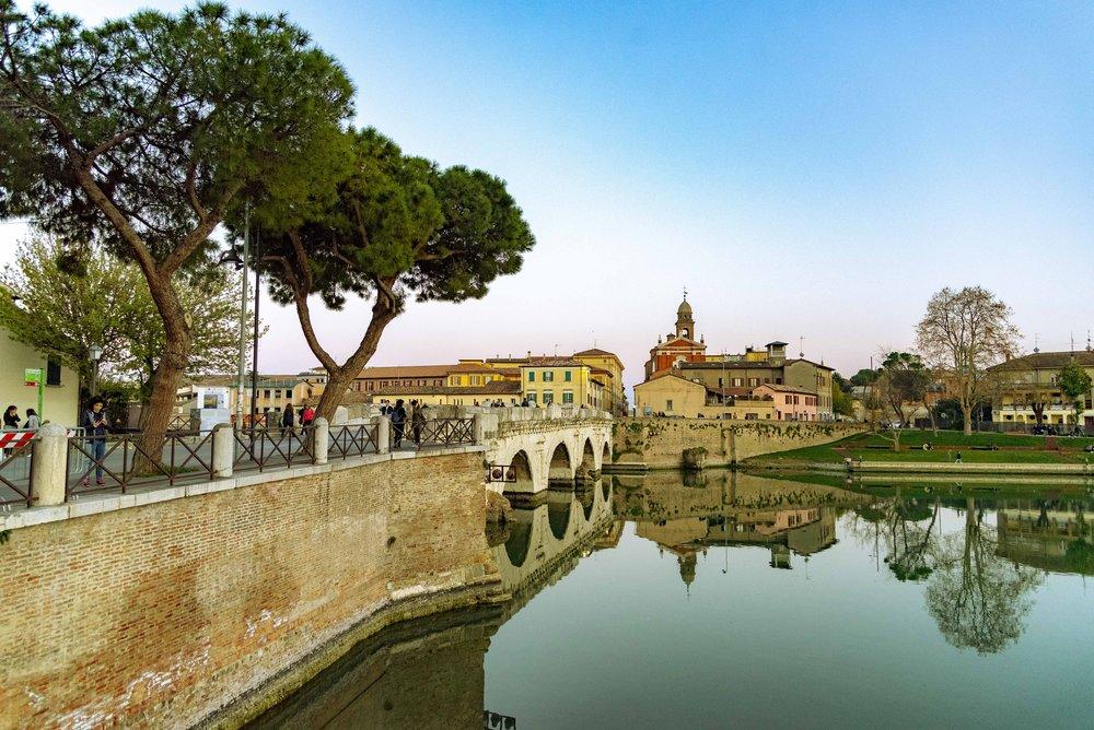 Ponte di Tiberio, Rimini. Foto di Valerio Greco