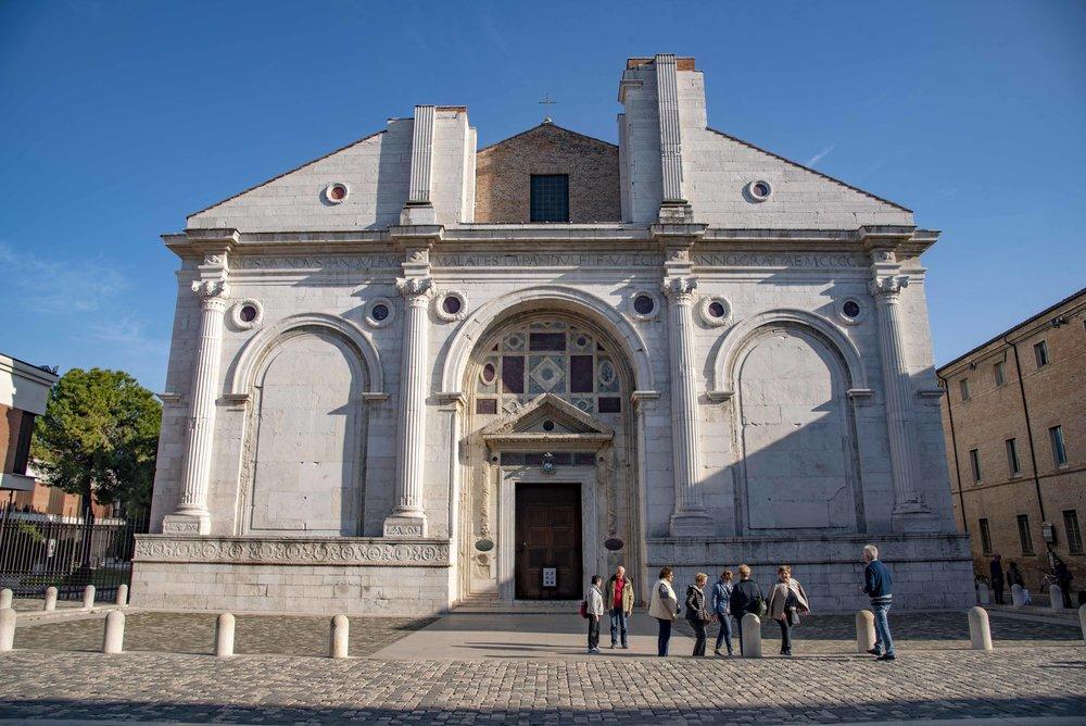 Tempio Malatestiano, Rimini. Foto di Valerio Greco