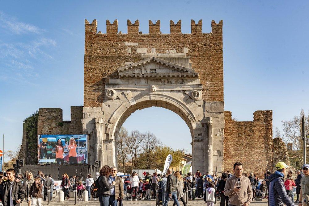 Arco di Augusto, Rimini. Foto di Valerio Greco
