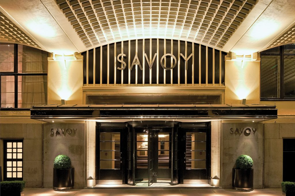 Savoy Hotel, Savoy PI, Londra. Foto di: Reardon Smith