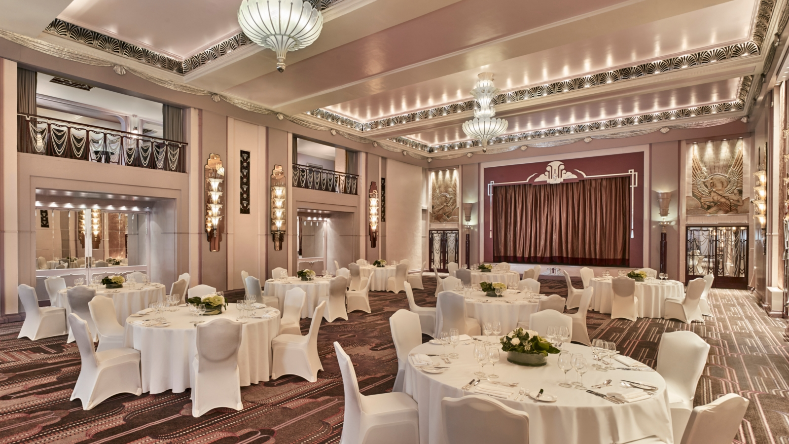 Sala da ballo, Sheraton Grand London Park Lane Hotel, Londra. Foto di: Sheraton Grand London Park Lane Hotel