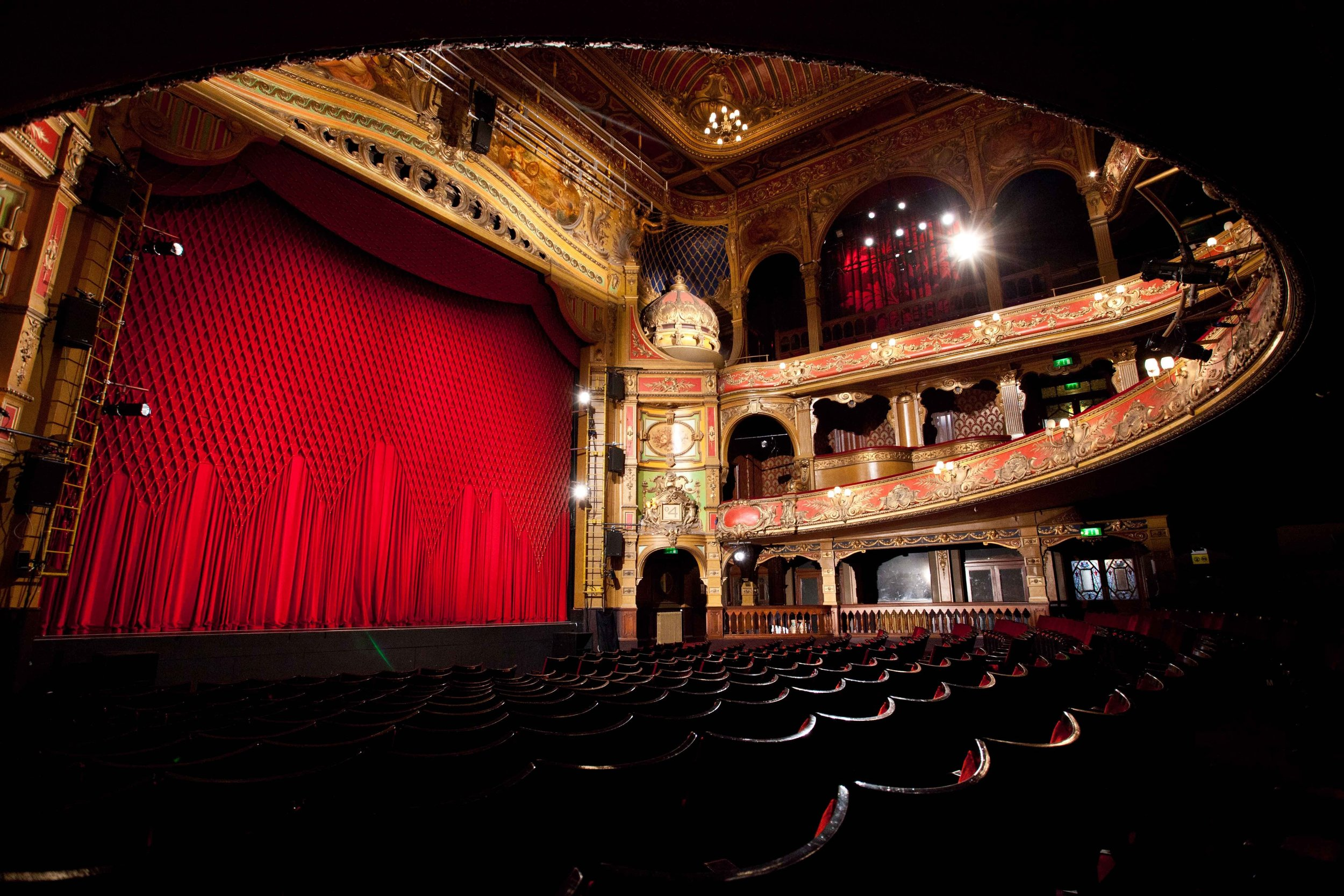 Hackney Empire Theatre, Londra. foto di: Hackney Empire Theatre