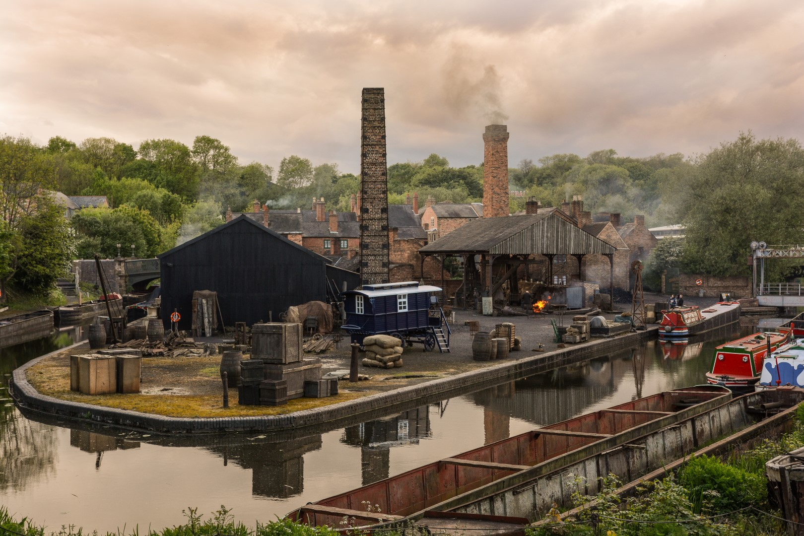 Black Country Living Museum, Dudley. Foto di: Black Country Living Museum