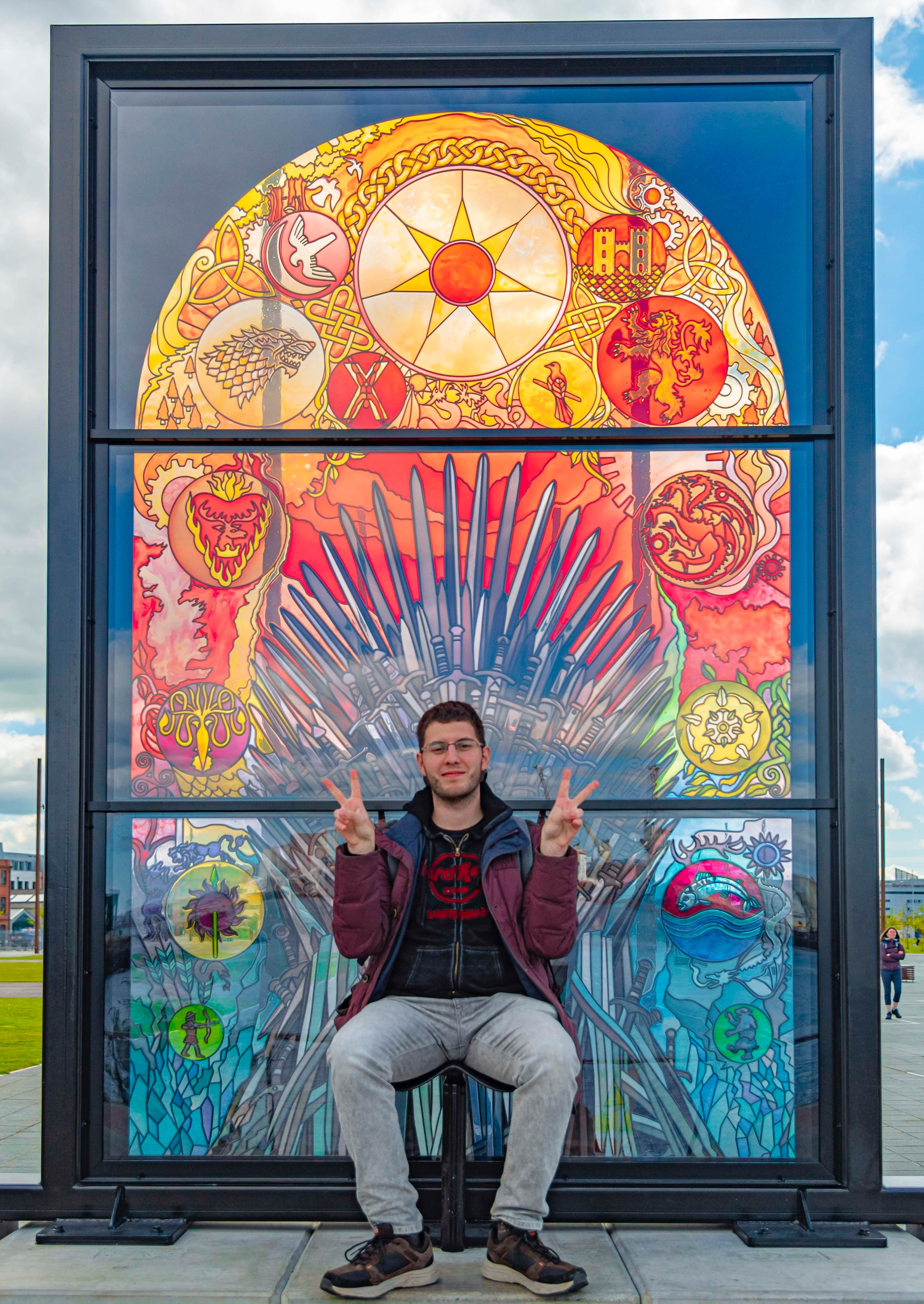 Glass of Thrones, Belfast. Foto di Greta Cinalli