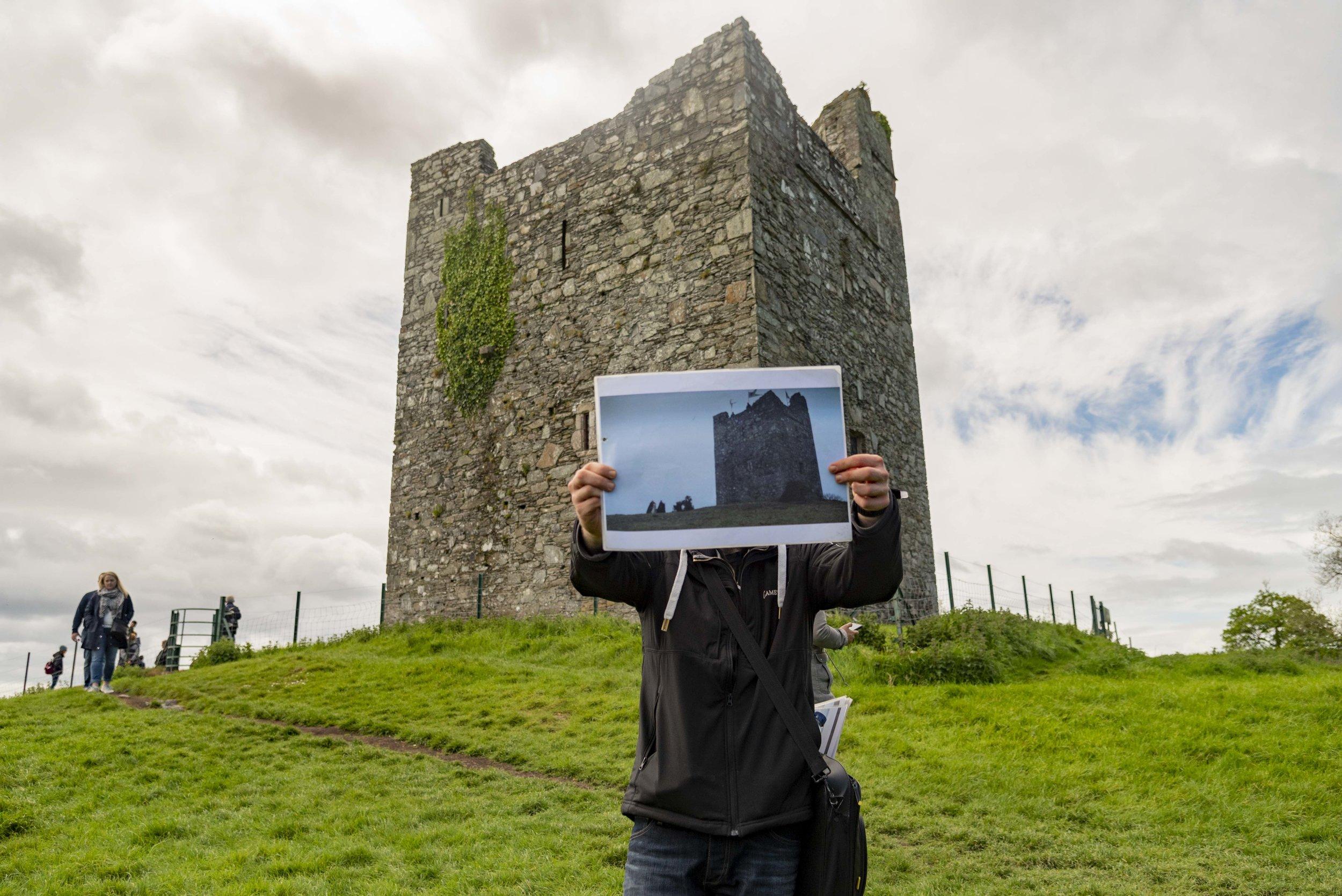Audley's Castel, Castle Ward, Contea di Down, Irlanda del Nord. Foto di Valerio Greco