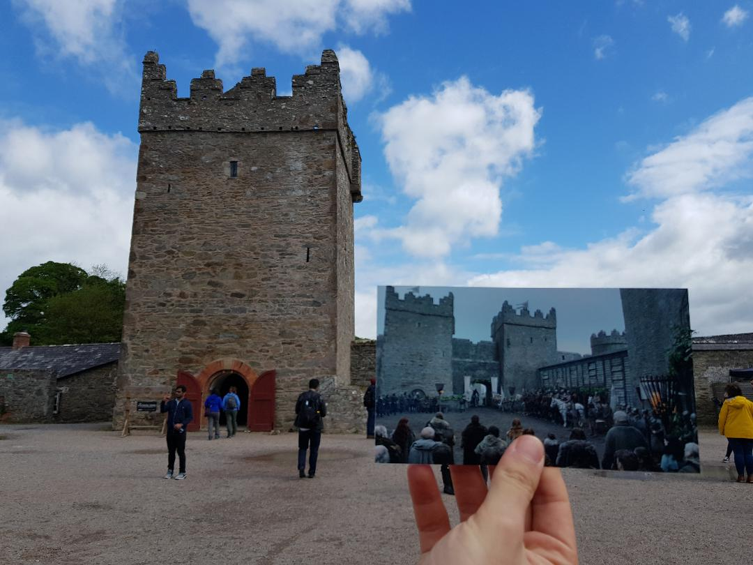 Castle Ward, Contea di Down, Irlanda del Nord. Foto di Valerio Greco. Fotogramma:  Game of Thrones , HBO