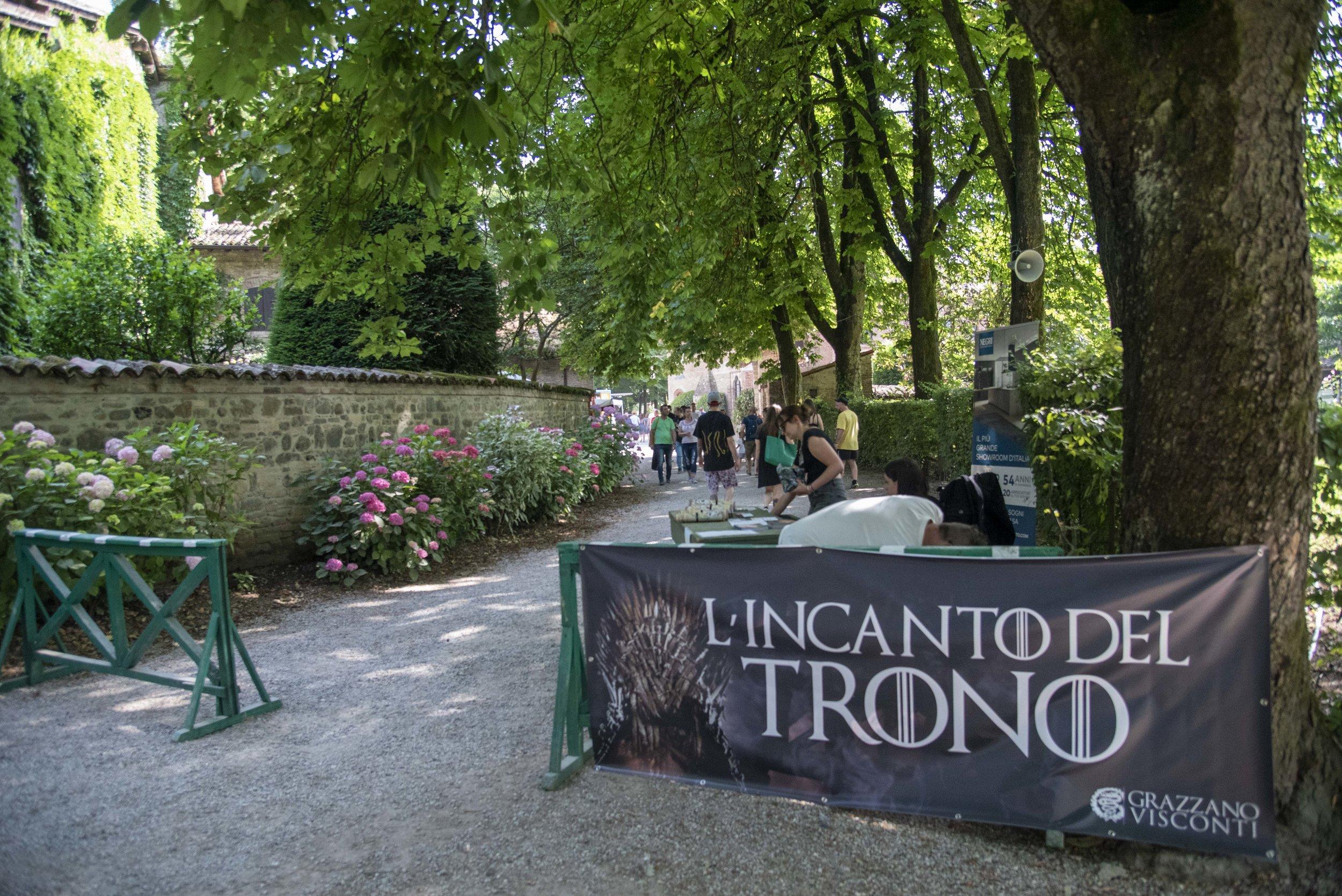 """""""L'incanto del Trono"""",      Grazzano Visconti. Foto di Greta Cinalli"""