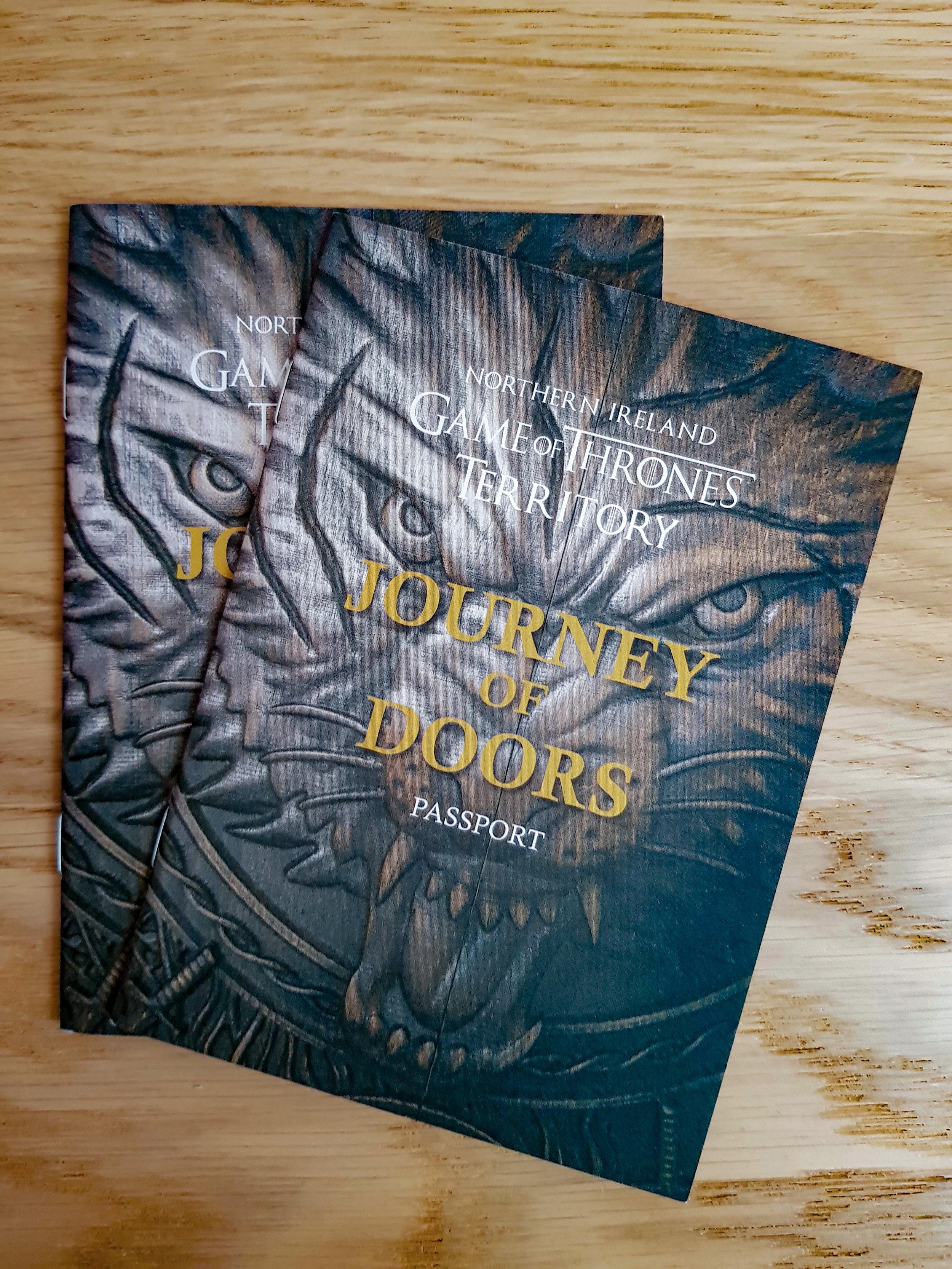 Journey of Doors passport. Foto di Greta Cinalli