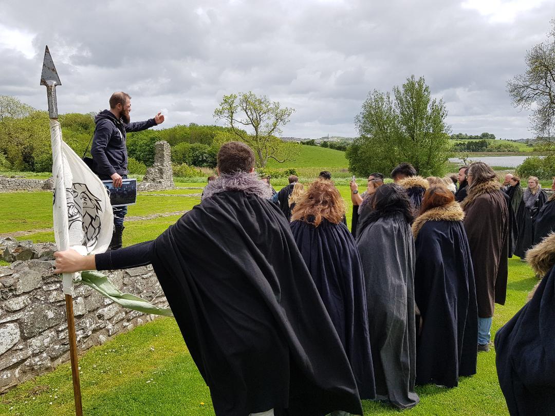 Inch Abbey, Irlanda del Nord. Foto di Greta Cinalli