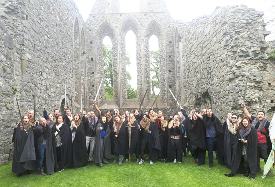 Inch Abbey, Irlanda del Nord. Foto di Andrew McClay, Game of Thrones Tours