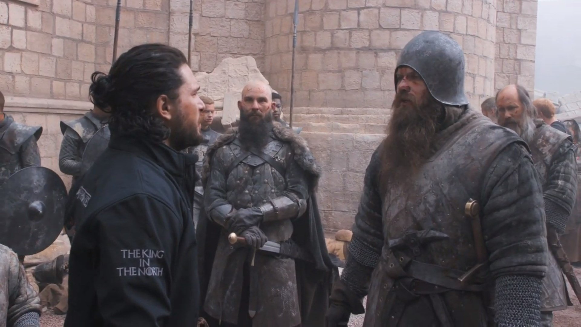 Kit Harington e Andrew McClay,  Game of Thrones , HBO