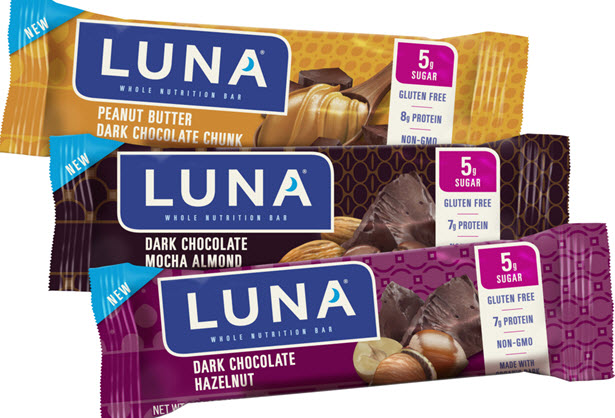 LUNA Bars are kitchen-crafted to help keep you nourished throughout your busy day and give you the energy you need to break through. Each bar is a delicious, nutritious, gluten-free snack that's perfect between meals.