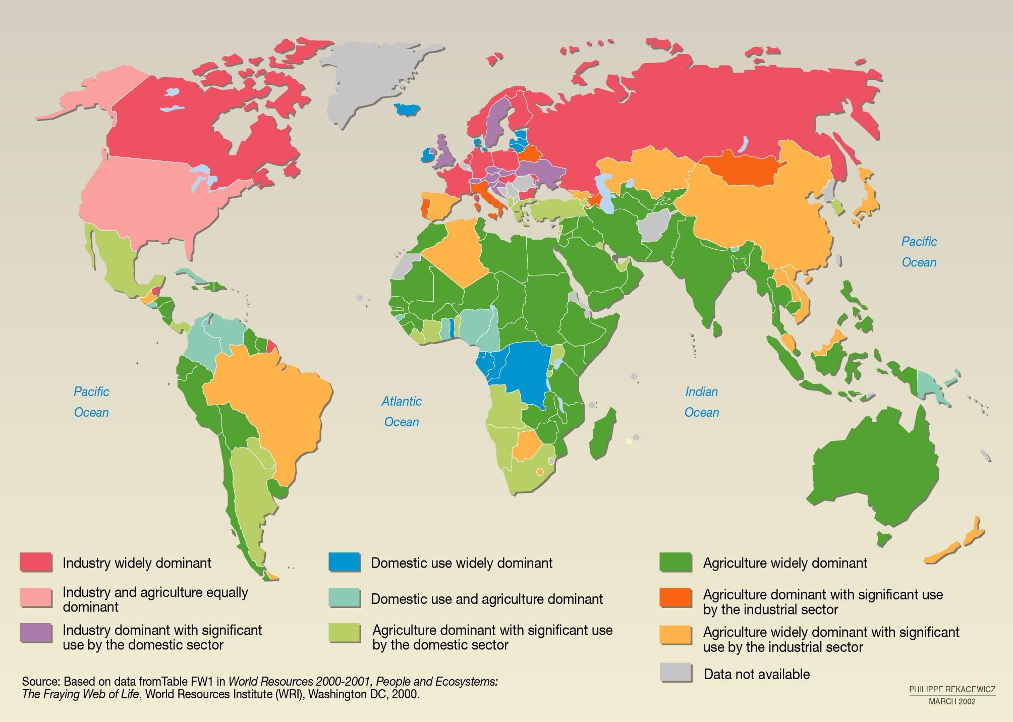 Freshwater Use by Country