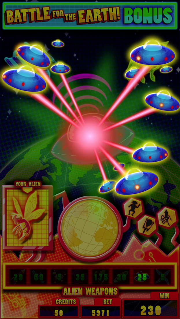 Battle For The Earth Bonus