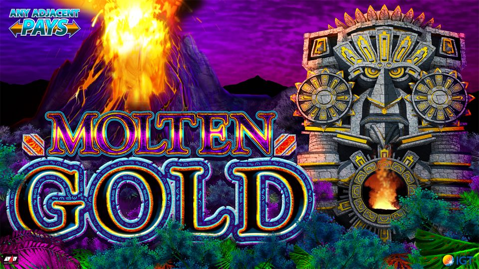 Molten Gold™ - Watch the massive volcano erupt with wins!
