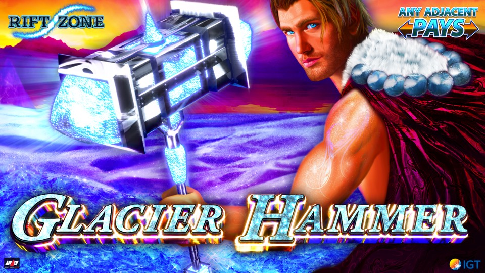 Glacier Hammer™ - Travel to a wintery land - Glacier Power!