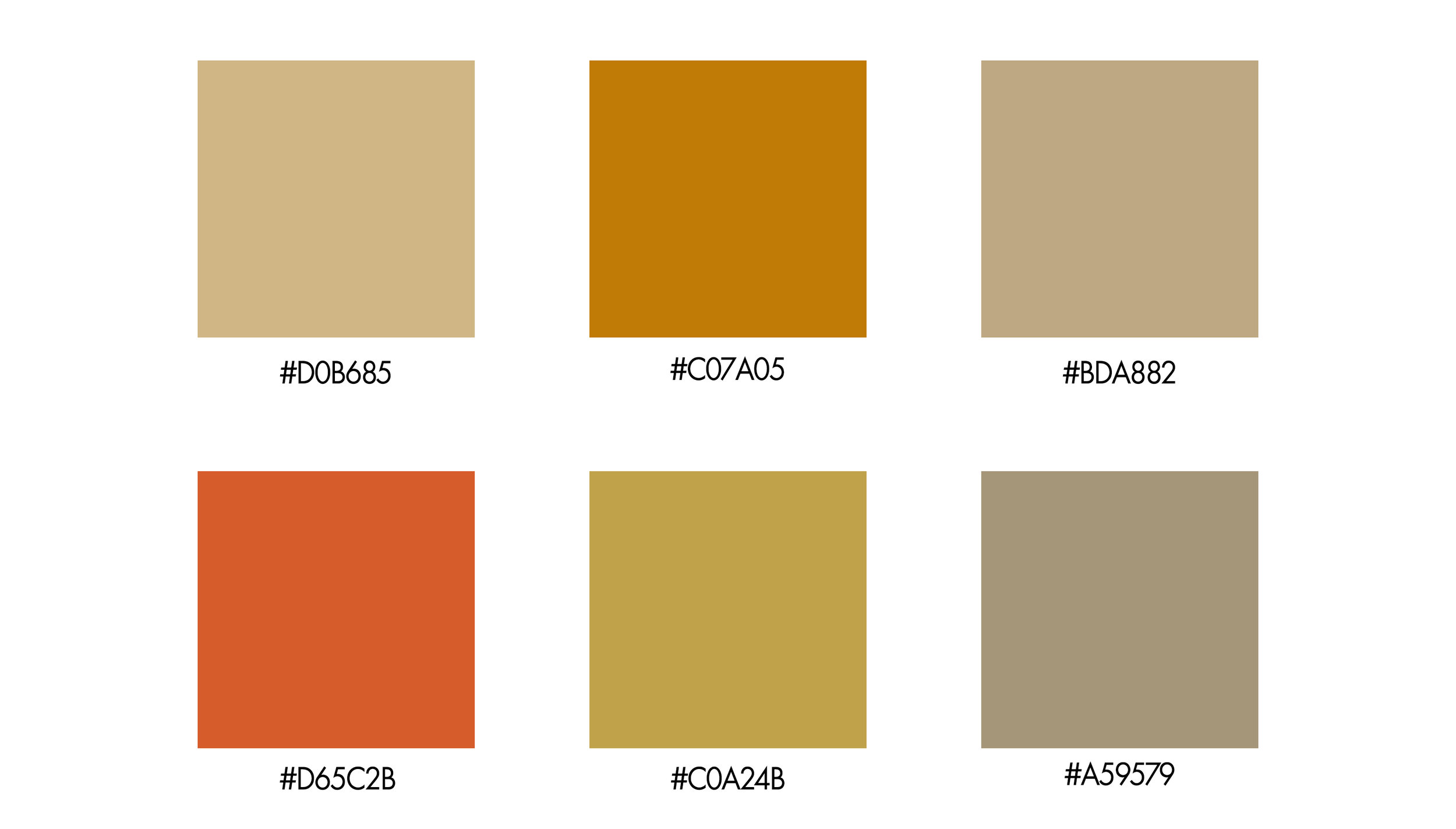 Color Palettes for kitchen design