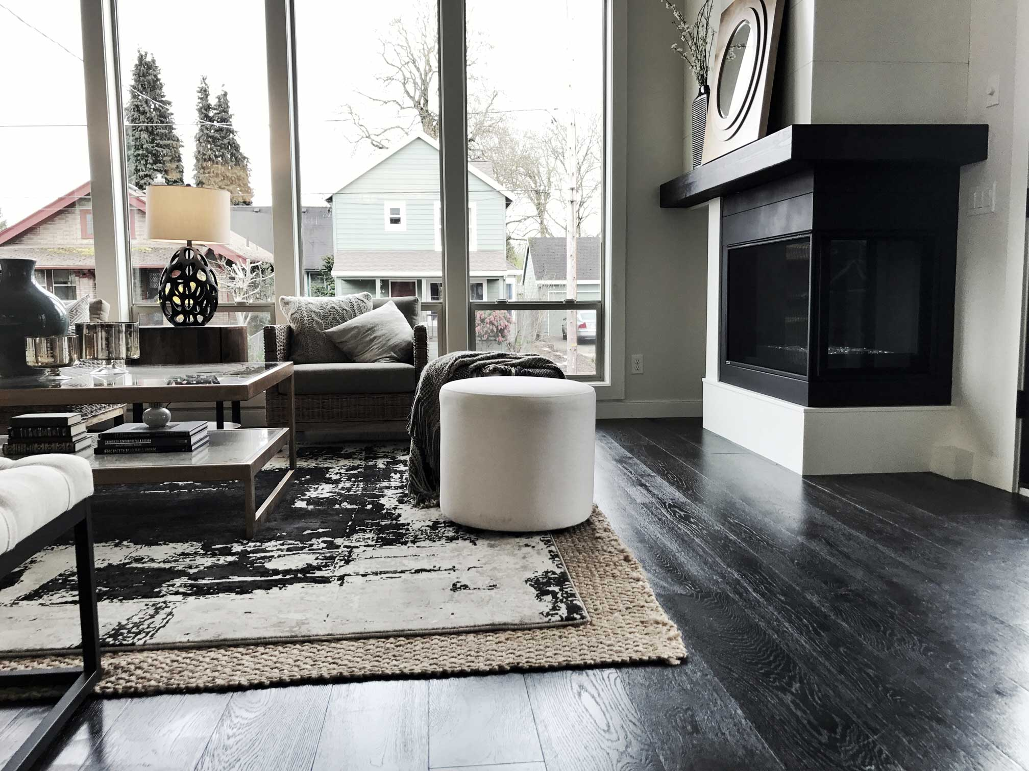 polished hardwood floors by divine hardwood & stone in portland, or