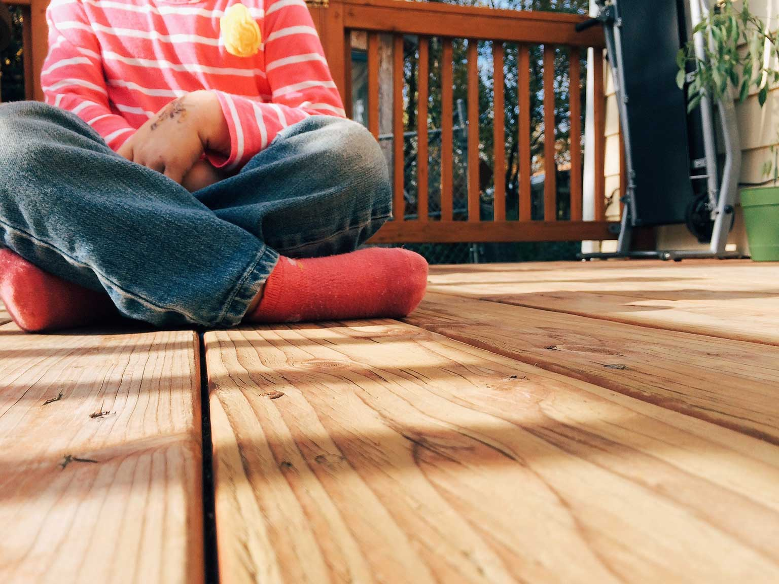 inspect your deck and porch for spring maintenance