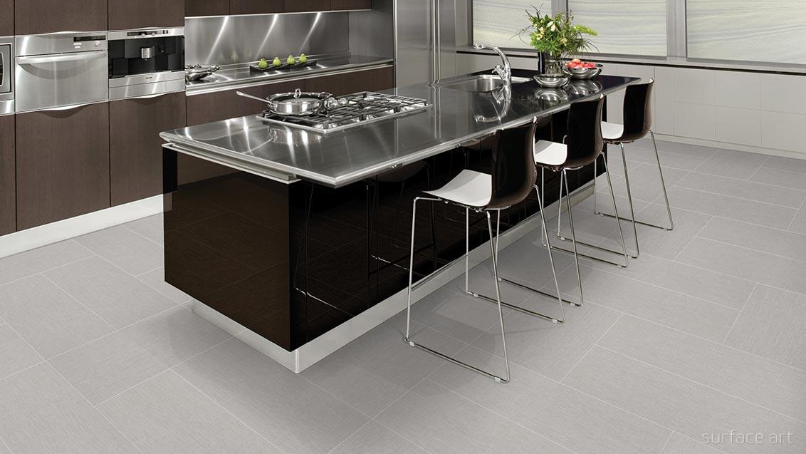 linen tile flooring in room scene