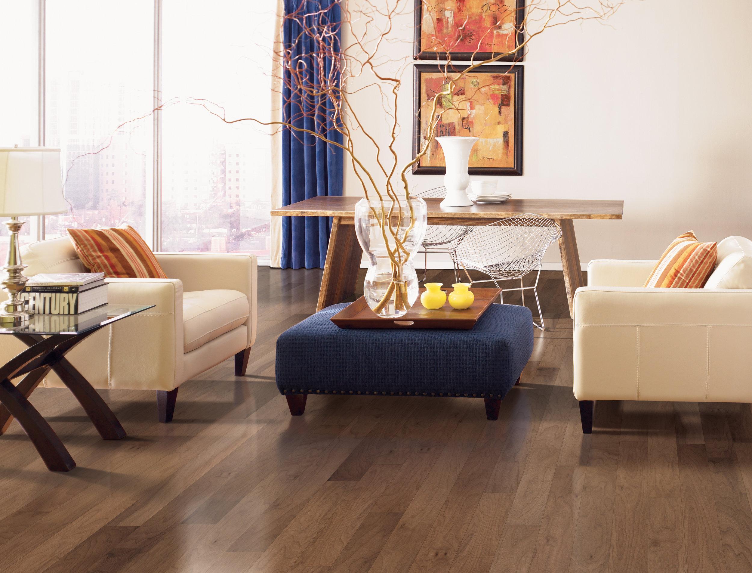 Luxury Vinyl Tile Flooring Room Scene 2 Portland, OR