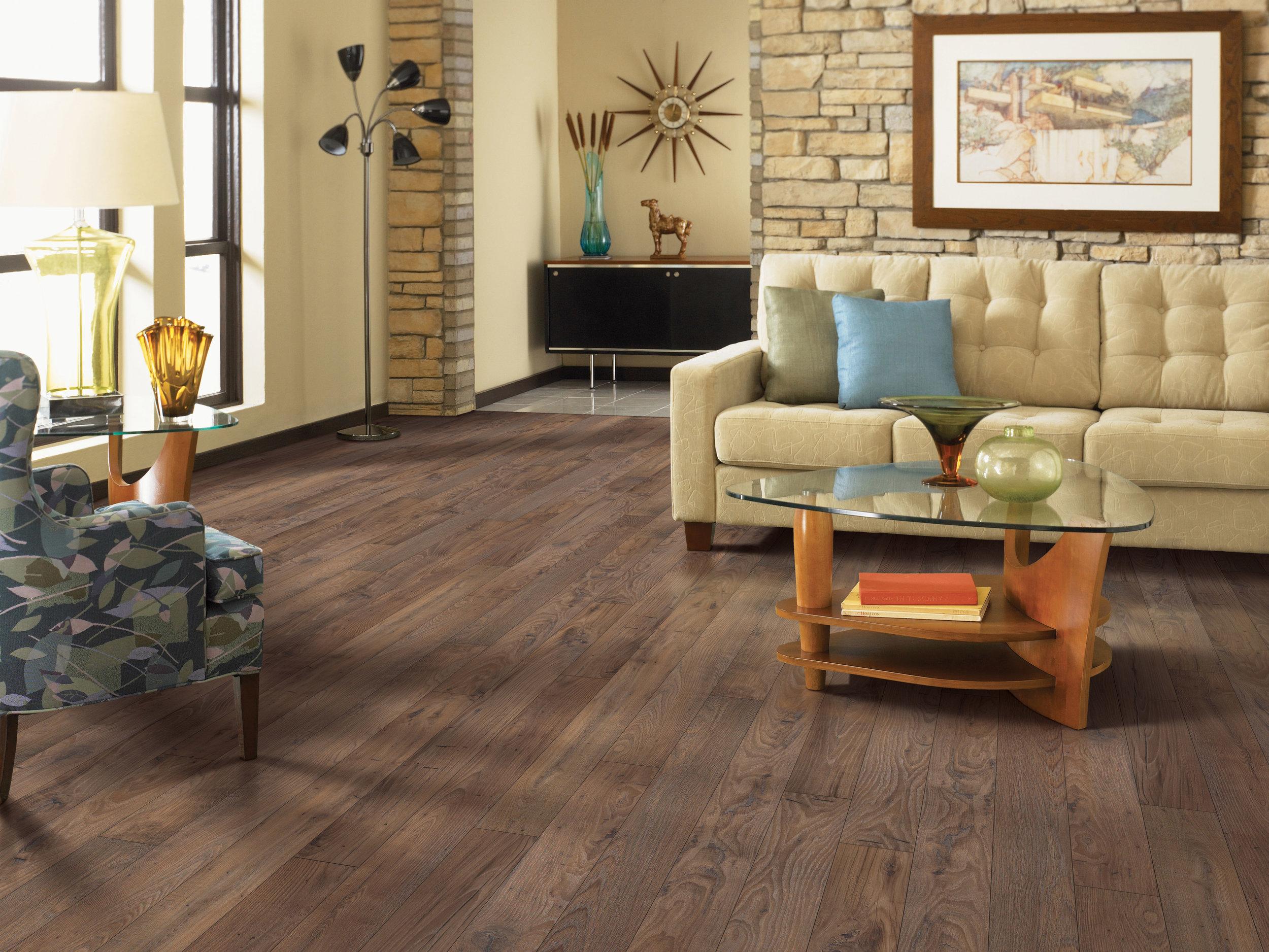 Luxury Vinyl Tile Room Scene 2 Portland Flooring