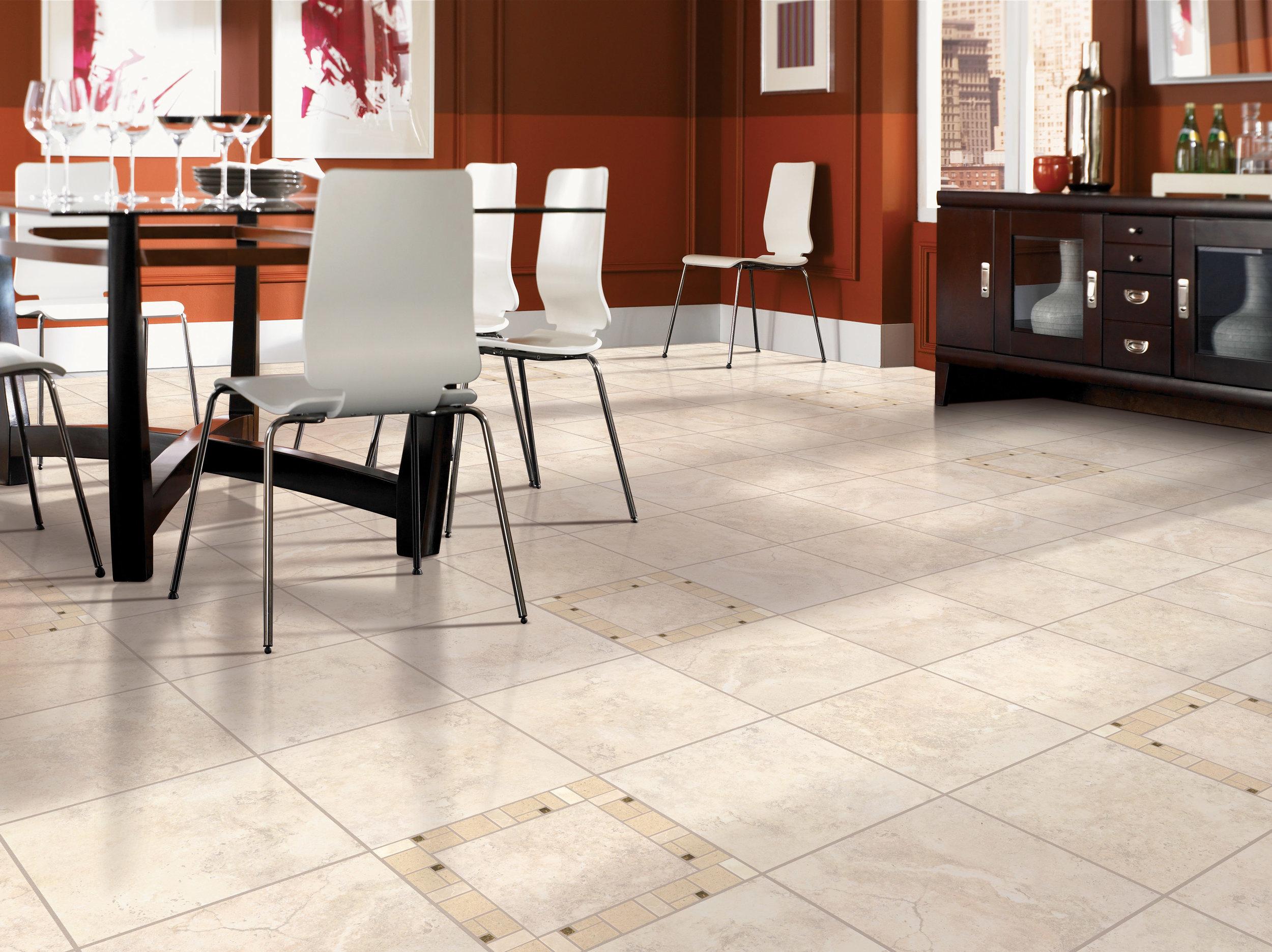 Luxury Vinyl Tile Flooring by Divine hardwood & stone