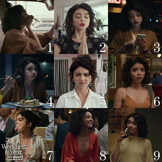 Which Mara are you today? Safe to say that on #humpday, we're feeling all of them!  The Wedding Year is in theaters and On Demand in TWO DAYS!  Get tickets in link in bio.  #SaveYourDate 💝