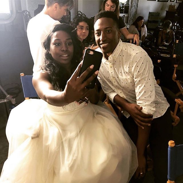 Reposted: @zorabikangaga Here's a #fbf pic from when I faked out all my aunties on Instagram who legit thought I got married loll also @theweddingyear is OUT TODAY IN THEATERS AND VOD!! It's my first supporting role in a theatrical movie and I couldn't have done it with a more talented/experienced/positive cast and crew. It's also an ADORBS rom-com and perfect date movie GO SEE IT!! 💍❤️🥂