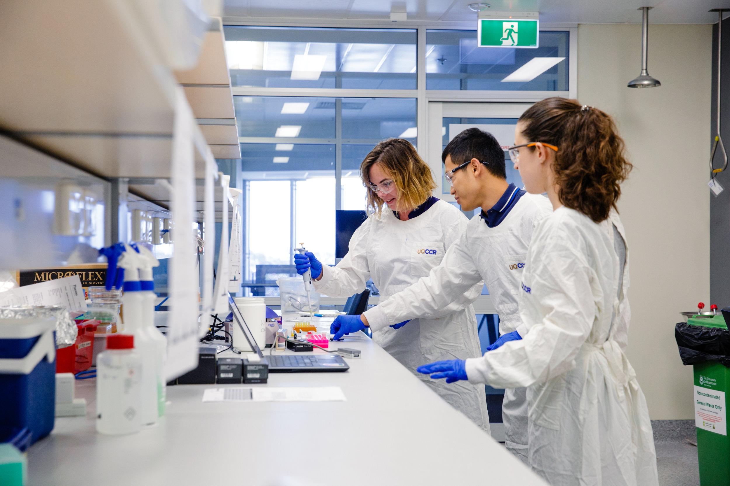 Genomics in Queensland Research -