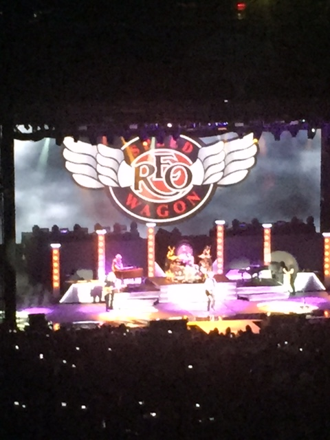 I heard it from a friend who, heard it from a friend who, heard that Reo Speedwagon is pretty darn exceptional in concert.