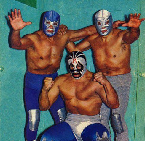 Blue Demon, Mil Mascaras, El Santo