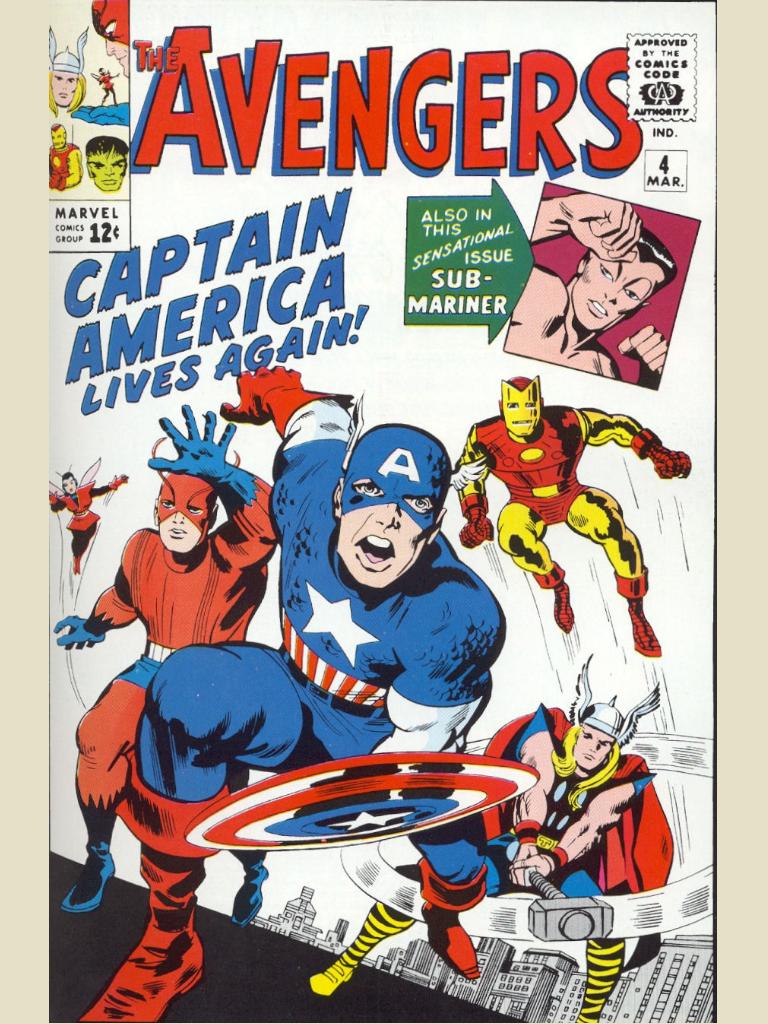 Surprise! Captain America is back.