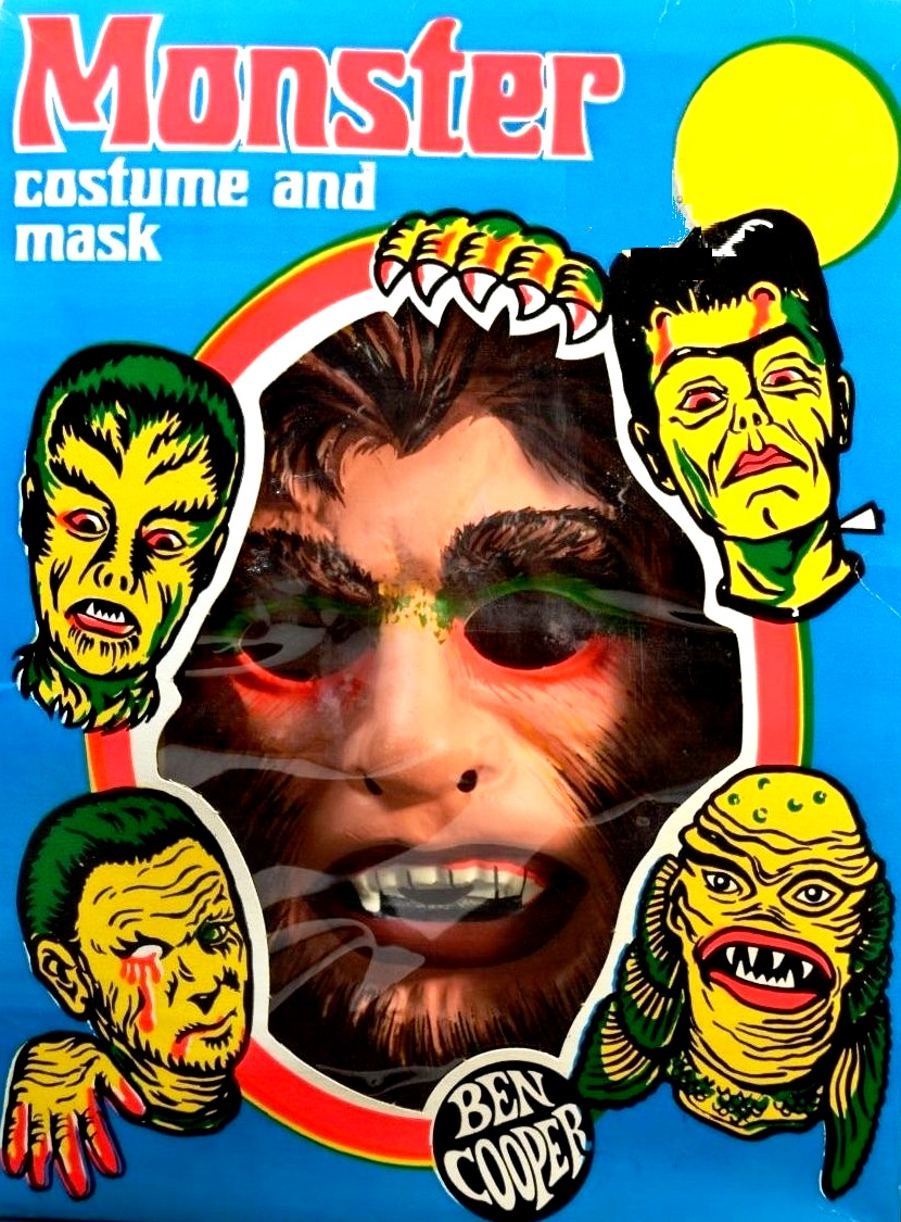 The Werewolf  joined by his pals FRANKENSTEIN'S monster, the creature, and one bleeding eye dude.